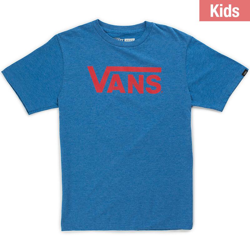 Vans Kids Classic T-Shirt Royal Heather/Racing Red