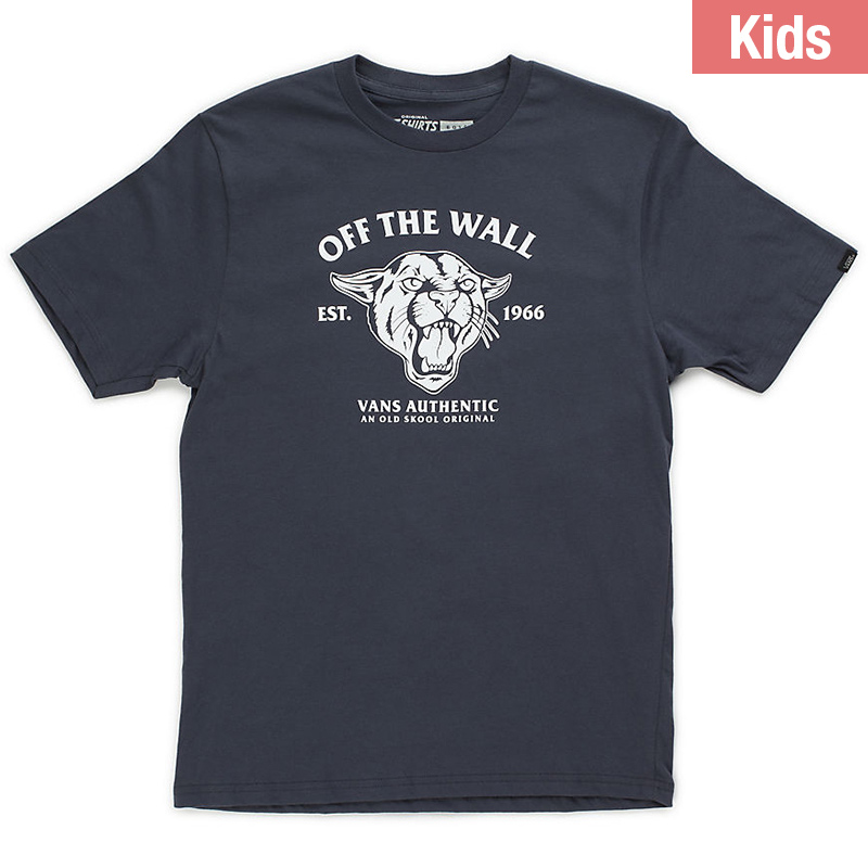 Vans Kids Cougar T-Shirt Navy
