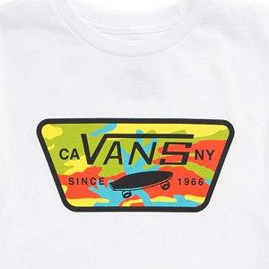 58de4f4441f2 Vans Kids Full Patch Fill T-Shirt White M - Skatestore.com