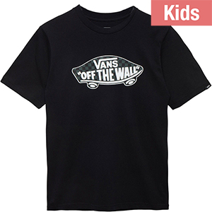 Vans Kids Otw Logo Fill T-Shirt Black/Grapeleaf/Black