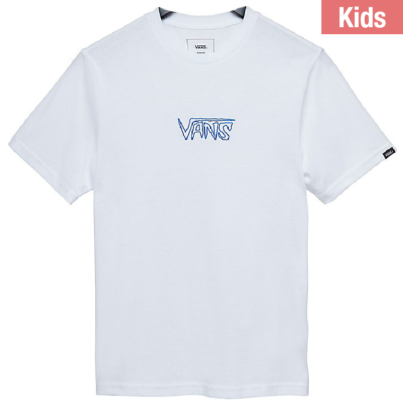 Vans Kids Sketch Tape T-shirt White