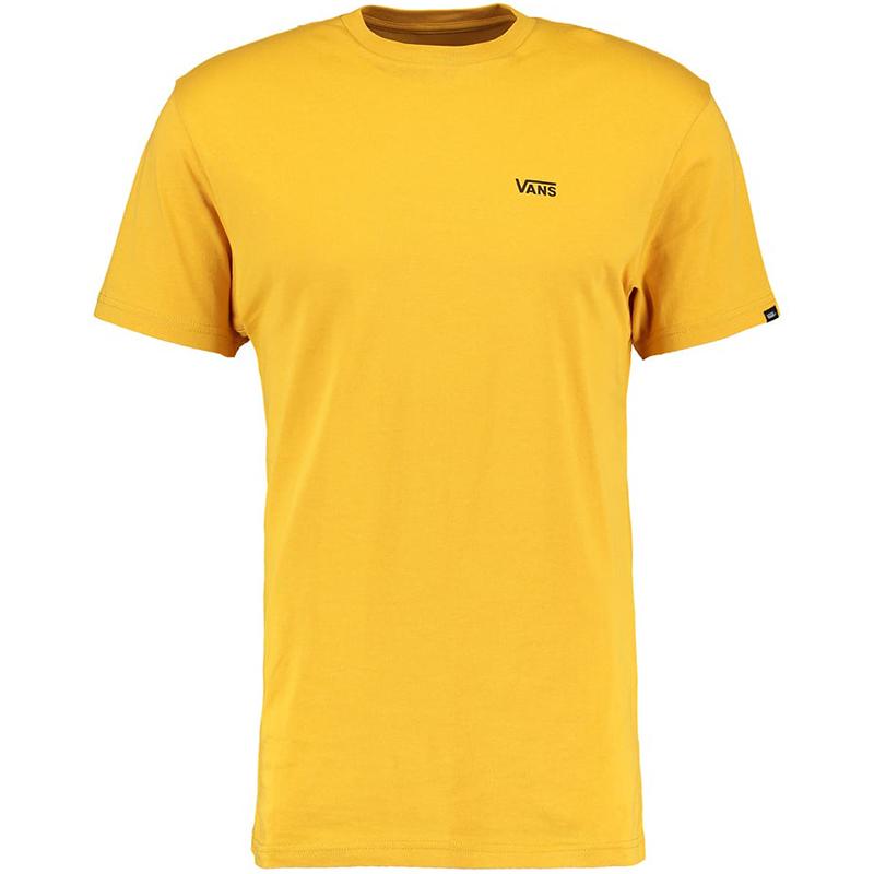 Vans Left Logo Chest T-shirt Mineral Yellow