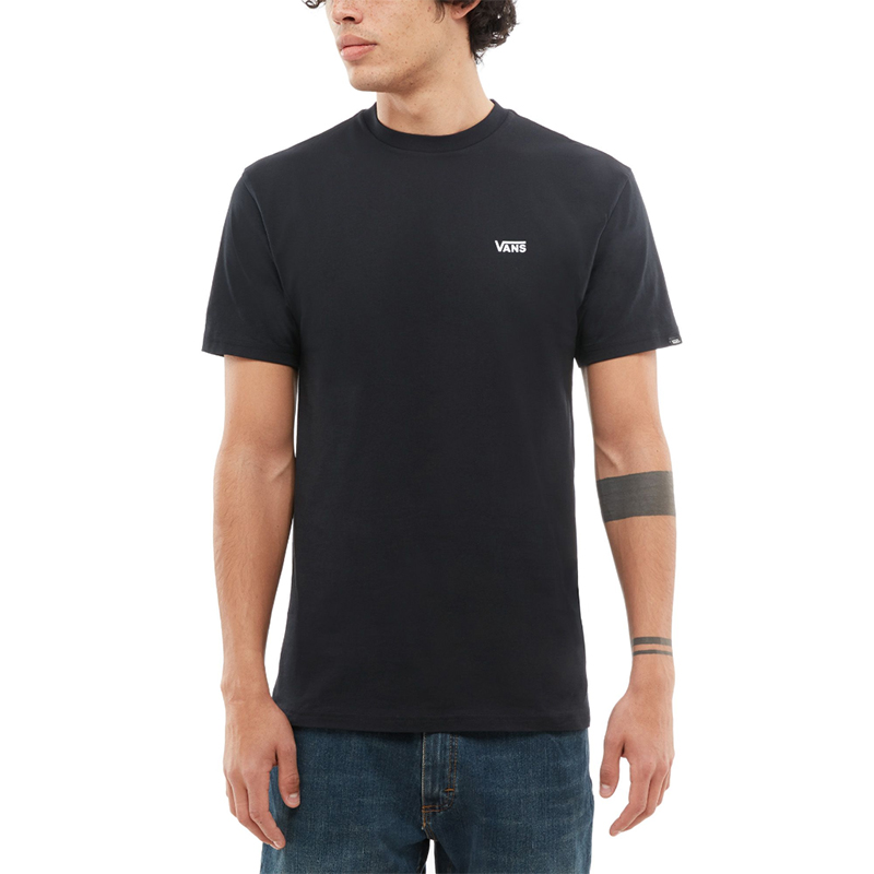 Vans Logo T-Shirt Black