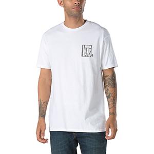 Vans New Checker T-shirt White