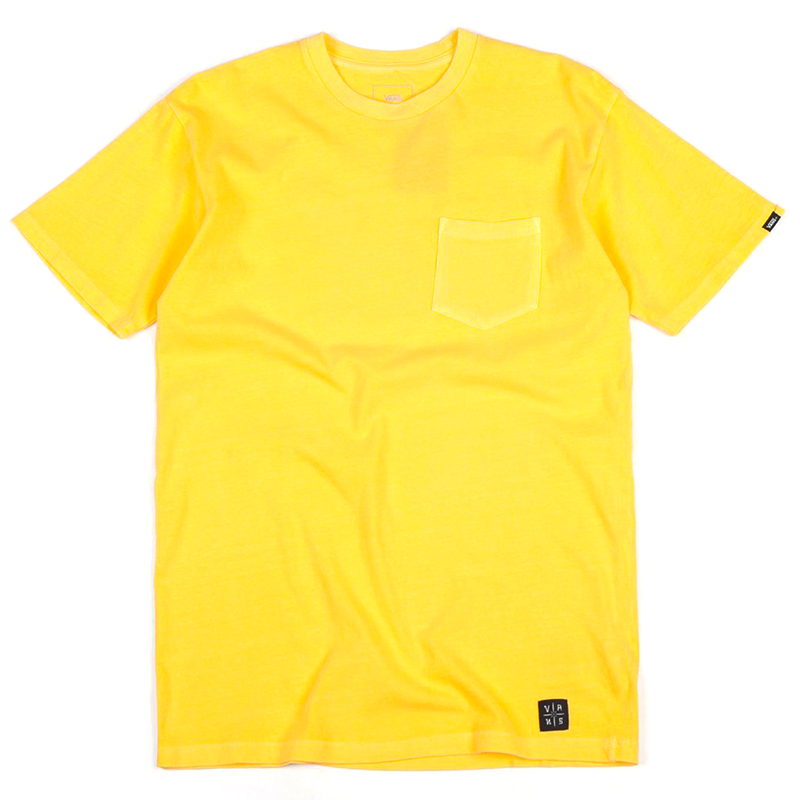 Vans Pico BLVD Pocket T-Shirt Aspen/Gold