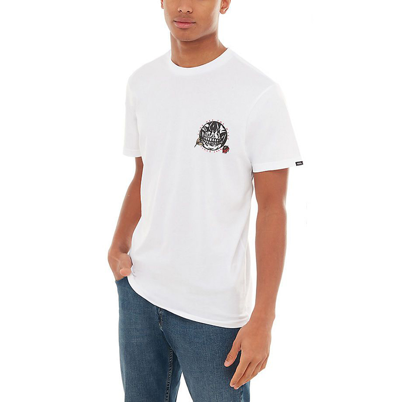 Vans Pushing Up Daisie T-Shirt White