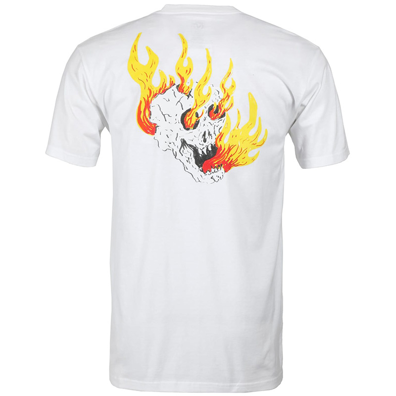 Vans Rowan Zorilla Skull T-Shirt White