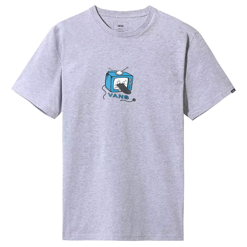 Vans Skate Tv T-Shirt Athletic Heather