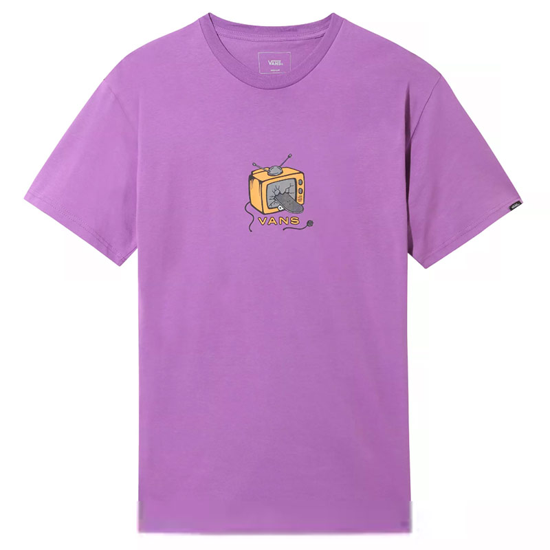 Vans Skate Tv T-Shirt Dewberry