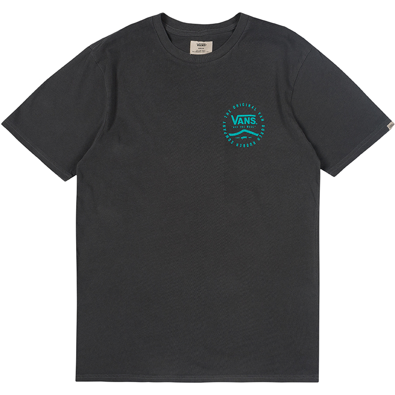 Vans Washed T-Shirt Original R Black Overdye