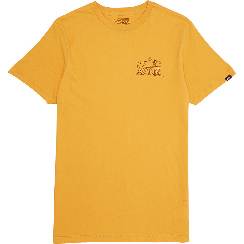 Vans X Peanuts Classic Snoopy T-shirt Mineral Yellow