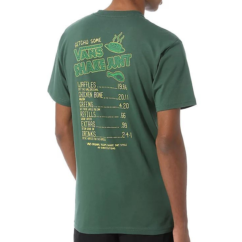 Vans X Shake Junt T-Shirt Pine Needle