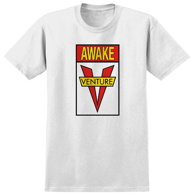 Venture Awake T-Shirt White/Red