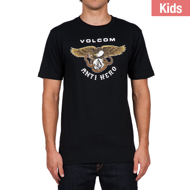 Volcom Anti Hero Kids Shortsleeve T-shirt Black