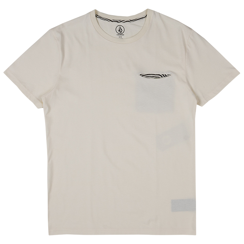 Volcom Arco Pocket T-shirt Egg White