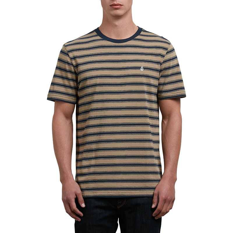 Volcom Briggs T-shirt Sand Brown