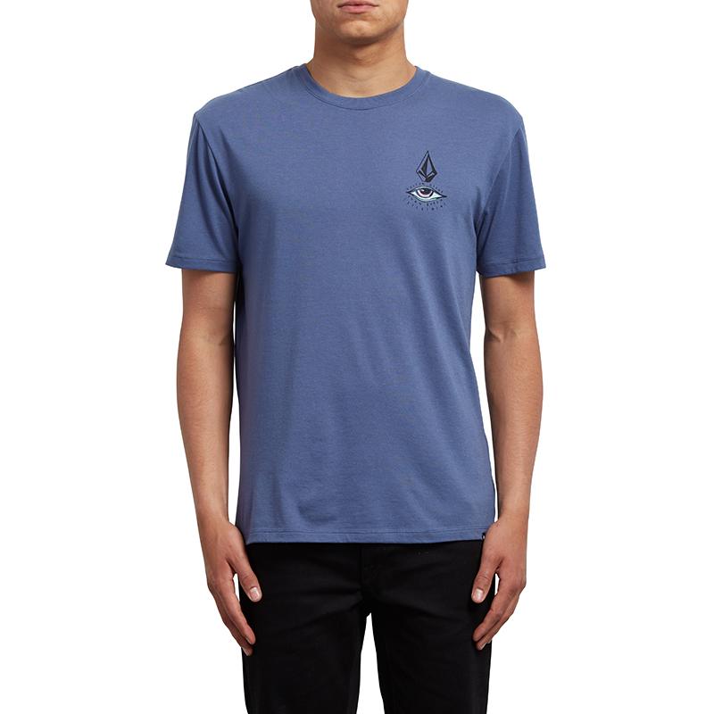 Volcom Burch Eye T-Shirt Deep Blue