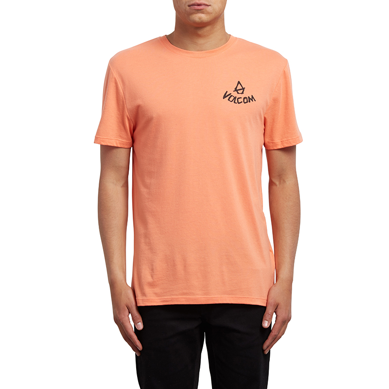 Volcom Chill T-Shirt Salmon