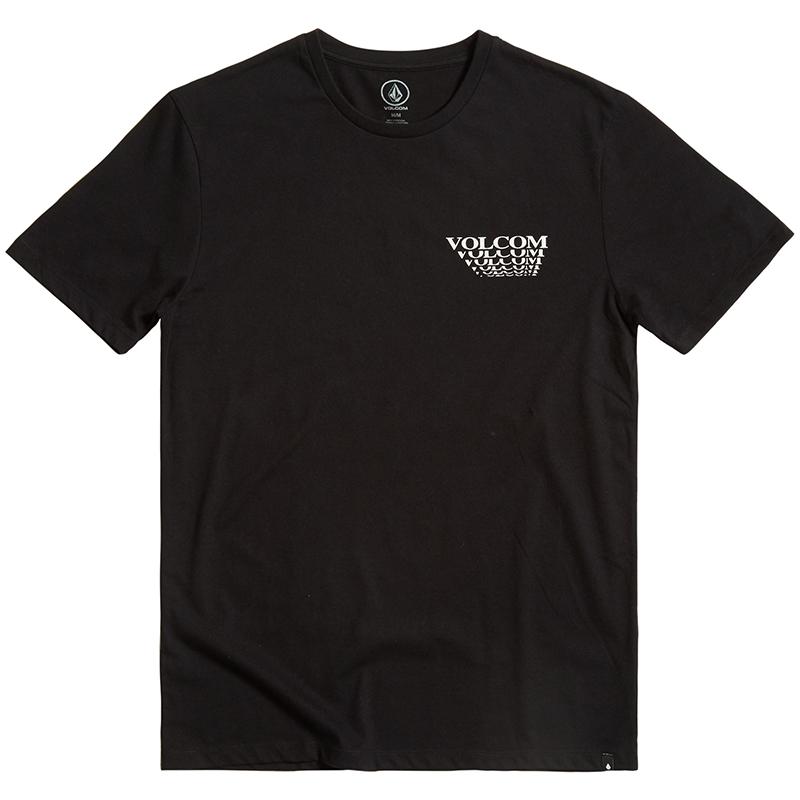Volcom Digital Arms Dd T-Shirt Black