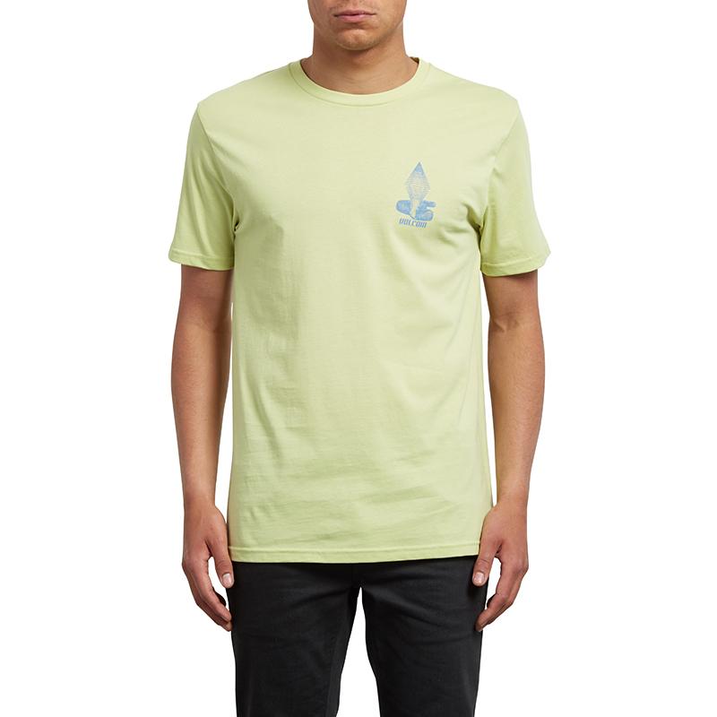 Volcom Digitalpoison T-shirt Shadow Lime