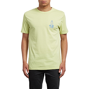 Volcom Digitalpoison T-shirt Shadow Lime