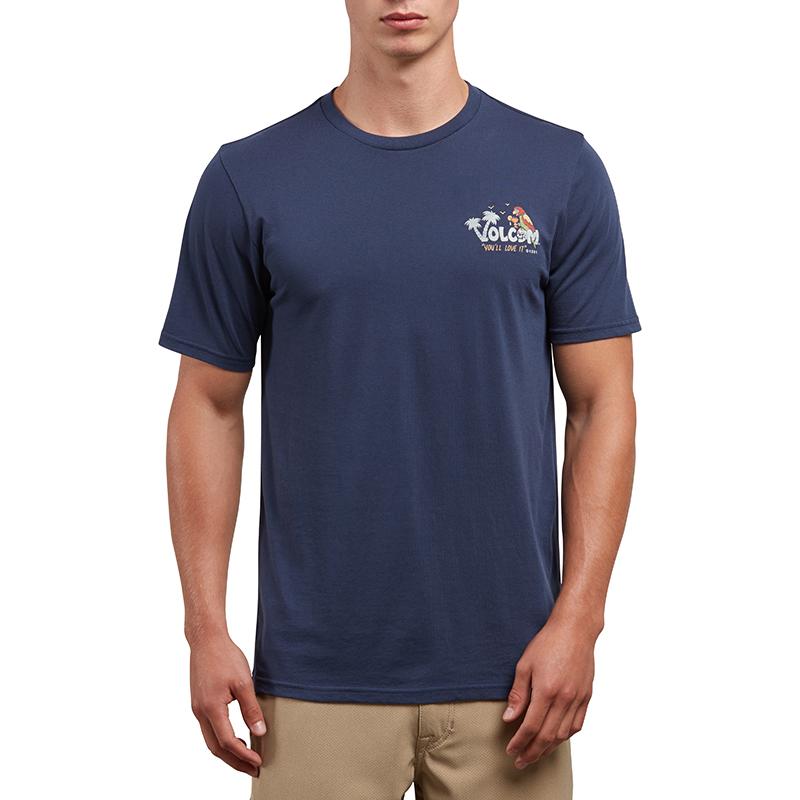 Volcom El Loro Loco T-Shirt Navy