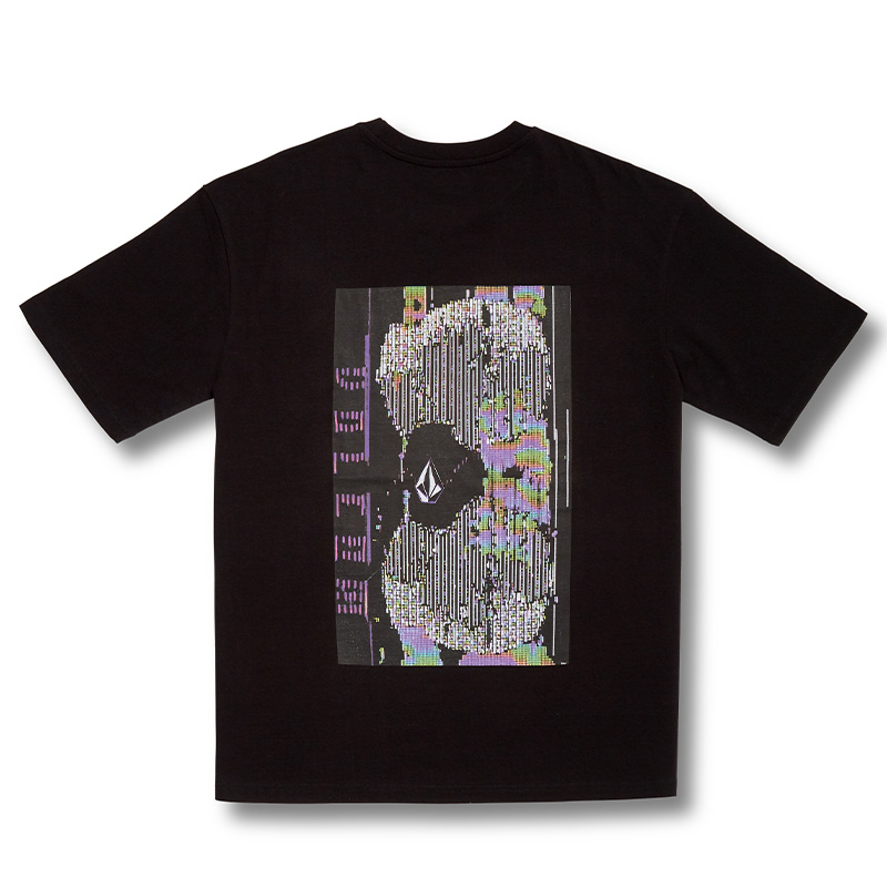 Volcom Flowscillator T-Shirt Black
