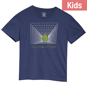 Volcom Kids Digi T-shirt Deep Blue