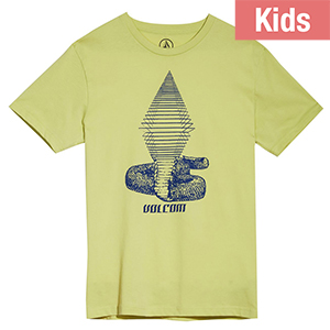 Volcom Kids Digitalpoison T-shirt Shadow Lime