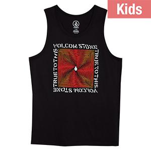 Volcom Kids Stoneradiator T-shirt Black