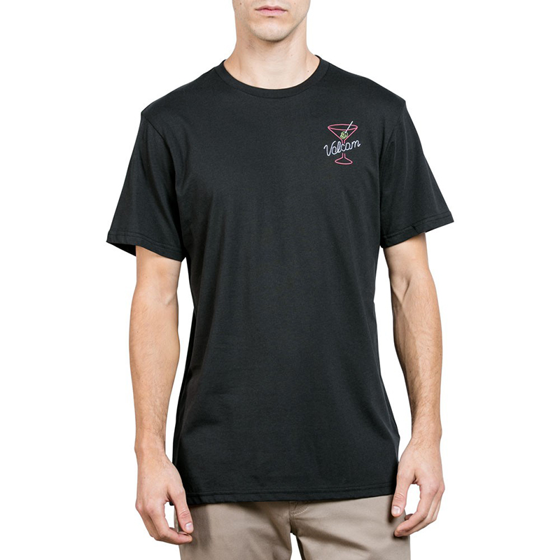 Volcom Kneon Nights T-Shirt Black