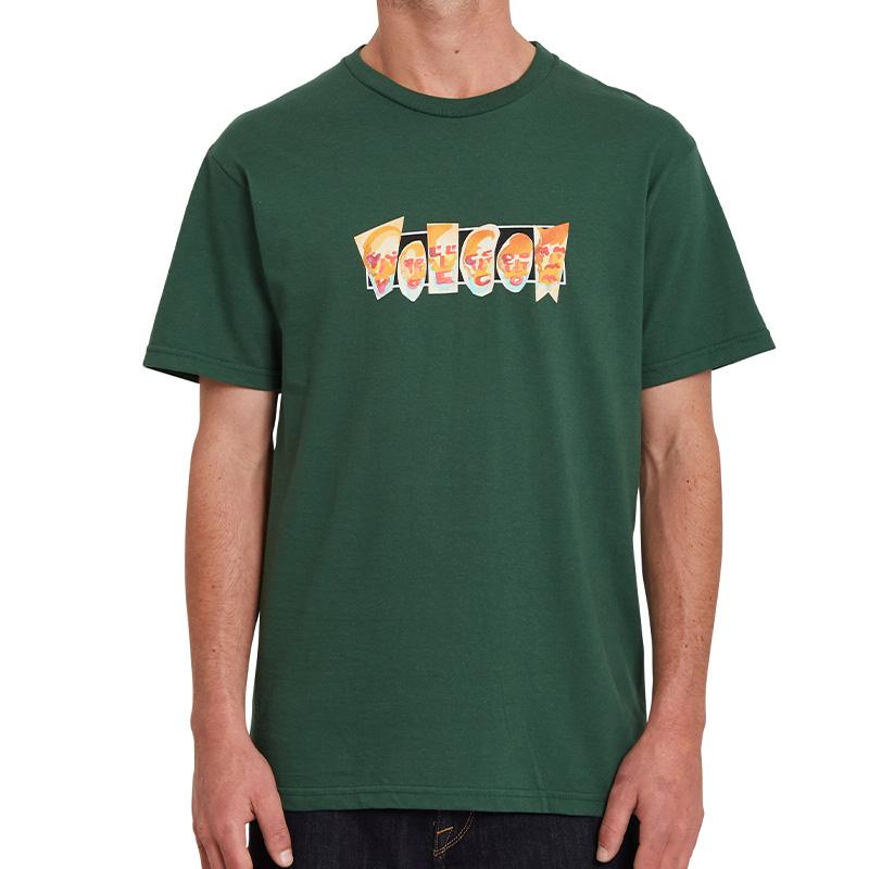 Volcom Louie Lopez Faces T-Shirt Forest
