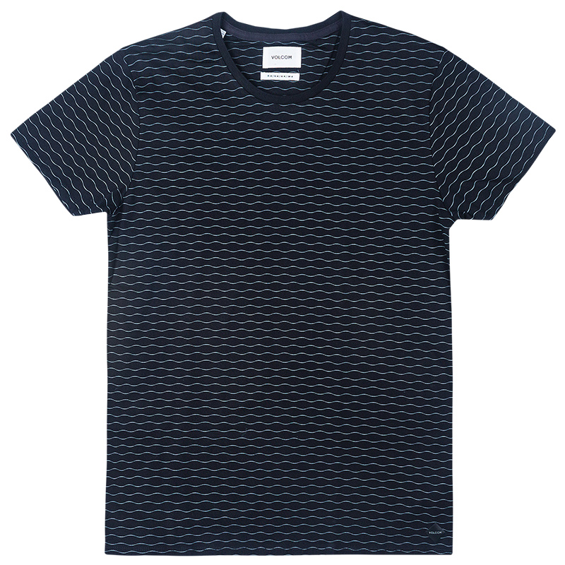 Volcom Micronit T-Shirt Heather Black