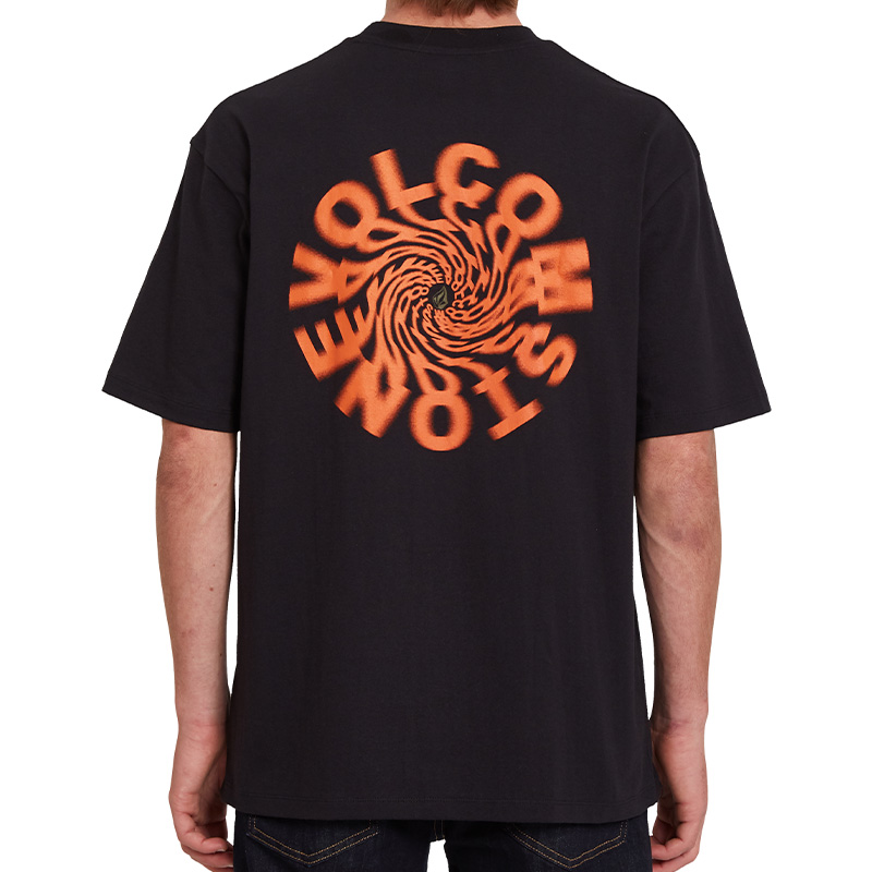 Volcom Nausea T-Shirt Black