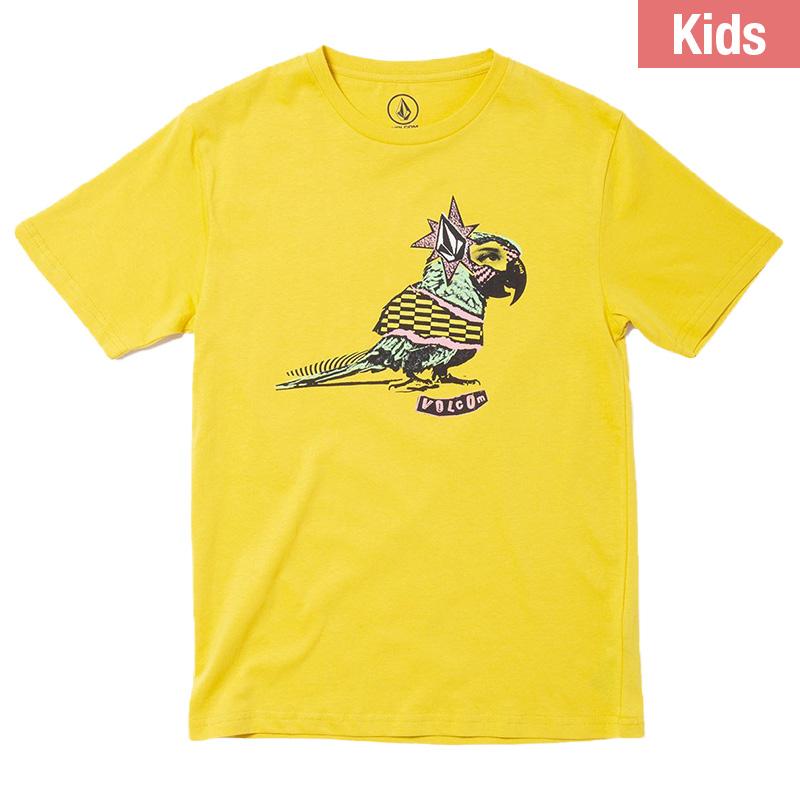 Volcom Party Parriot Bsc T-Shirt Sulphur