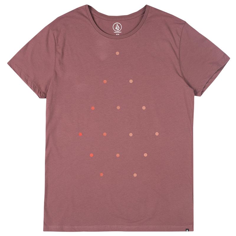 Volcom Rotate Lw T-shirt  Mauve