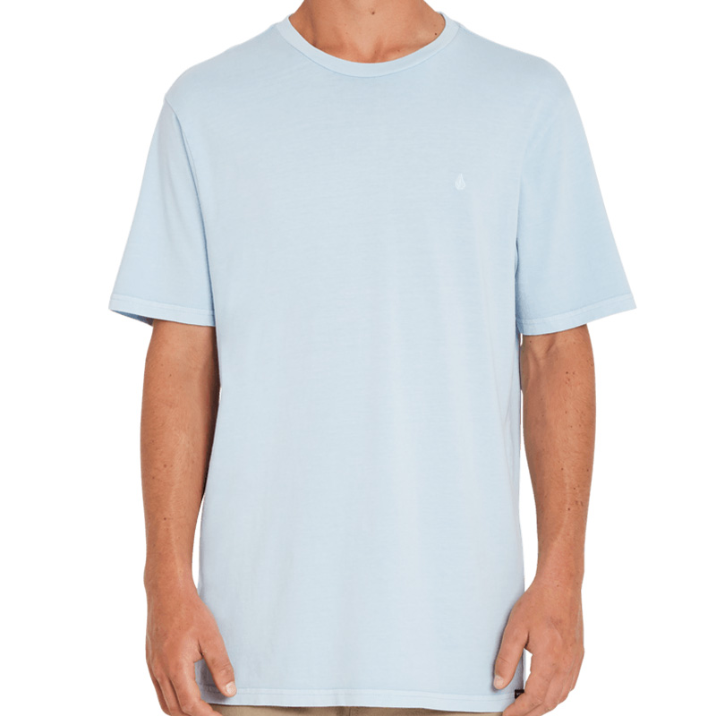 Volcom Solid Stone Emb Ss T-Shirt Aether Blue