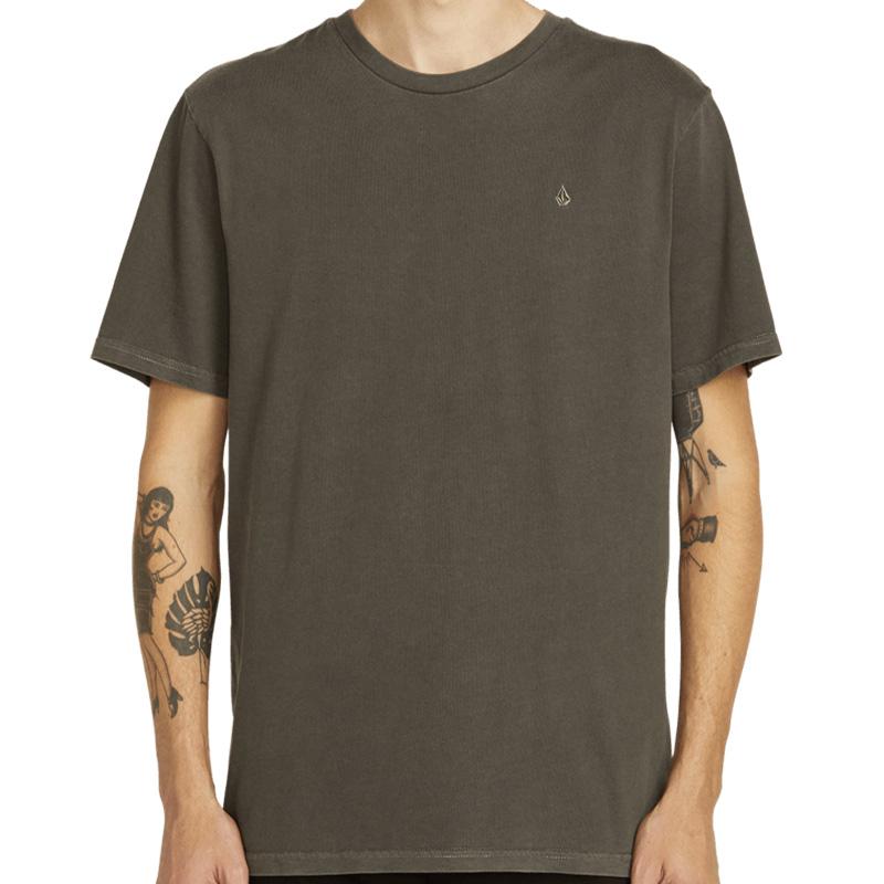 Volcom Solid Stone Emb Ss T-Shirt Black