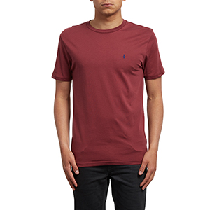 Volcom Stone Blanks t-shirt Crimson