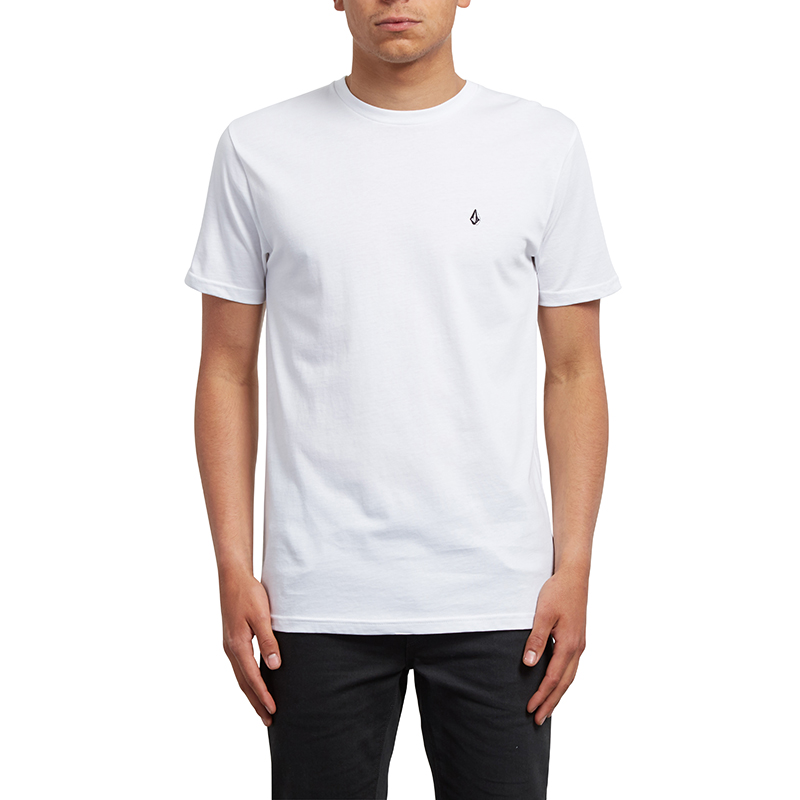 Volcom Stone Blanks T-Shirt White