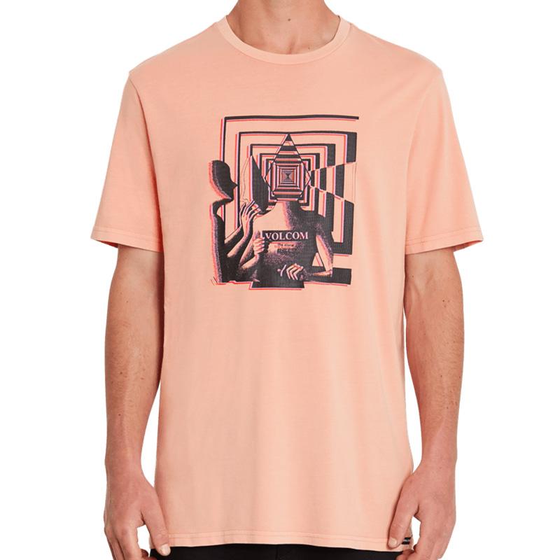 Volcom Stone Reveal T-Shirt Clay Orange