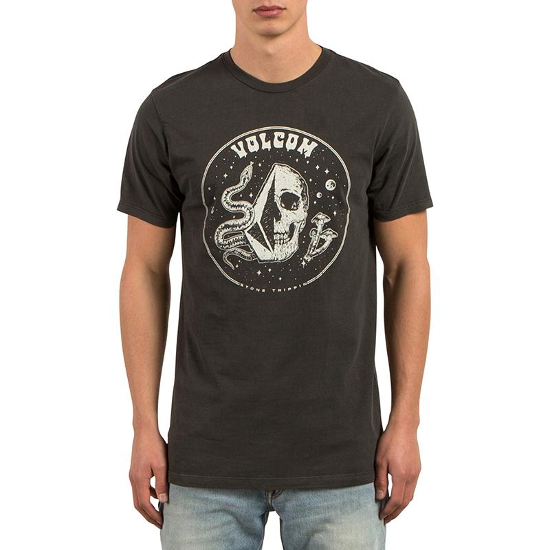Volcom Stone Trippin T-Shirt Black