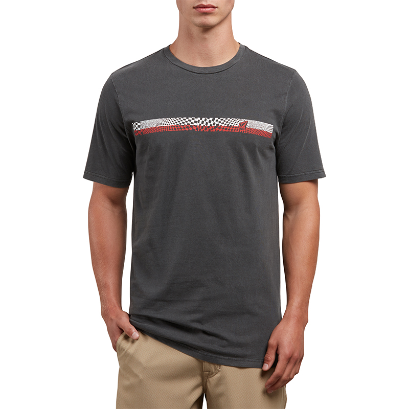 Volcom System Manic T-shirt Black