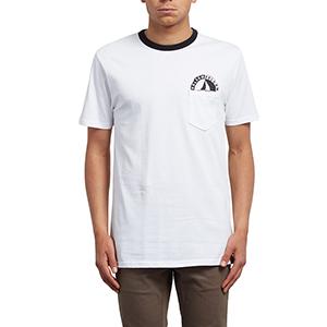 Volcom Vert Pocket T-Shirt White