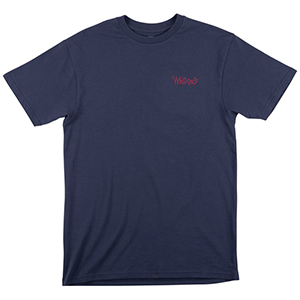 Welcome Candle T-Shirt Harbour Blue