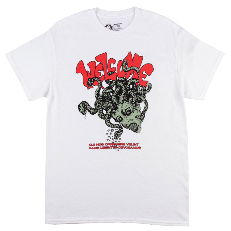 Welcome Medusa T-Shirt White