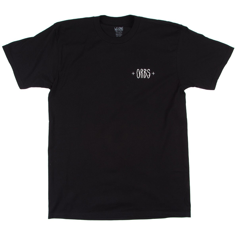 Welcome Orbs Ghost T-Shirt Black