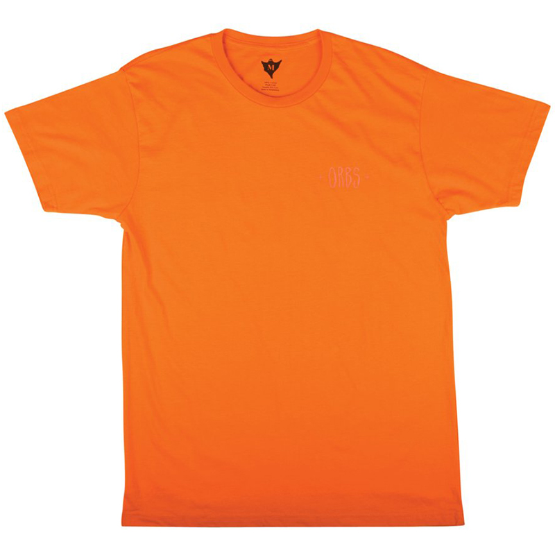 Welcome Orbs Ghost T-Shirt Orange/Neon Pink