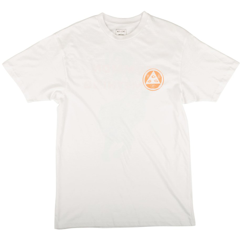 Welcome Summon Cetus T-Shirt White/Peach
