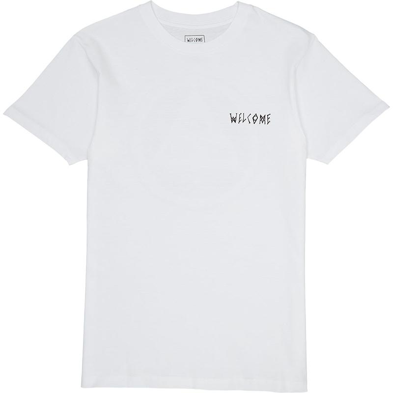 Welcome Talisman T-Shirt White/Black